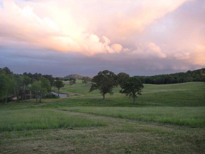 Coyaba Farms at sunset